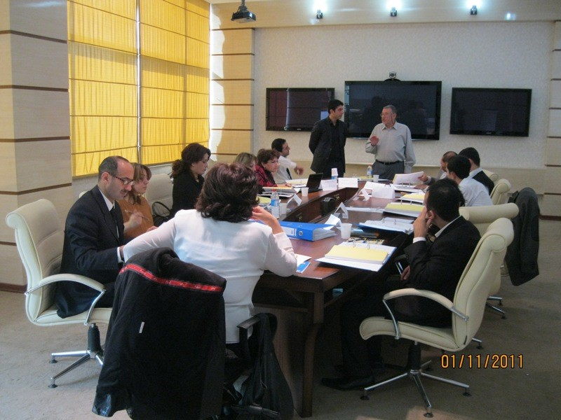 Training on Development of Modular Training Programs carried out by an international expert in the MLSPP during 01-04 November 2011